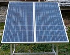 Photovoltaikmodule einer Inselanlage